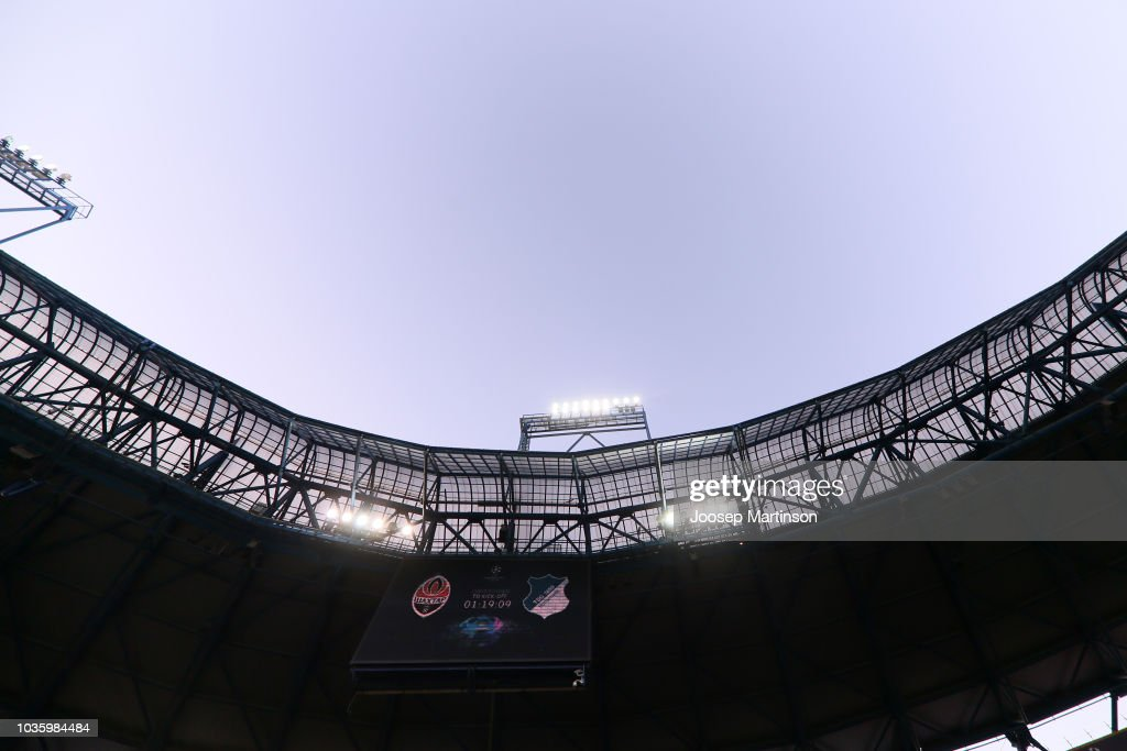 FC Shakhtar Donetsk v TSG 1899 Hoffenheim - UEFA Champions League Group F
