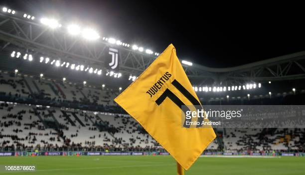 A general view inside the stadium prior to the Group H match of the UEFA Champions League between Juventus and Valencia at Allianz Stadium on...