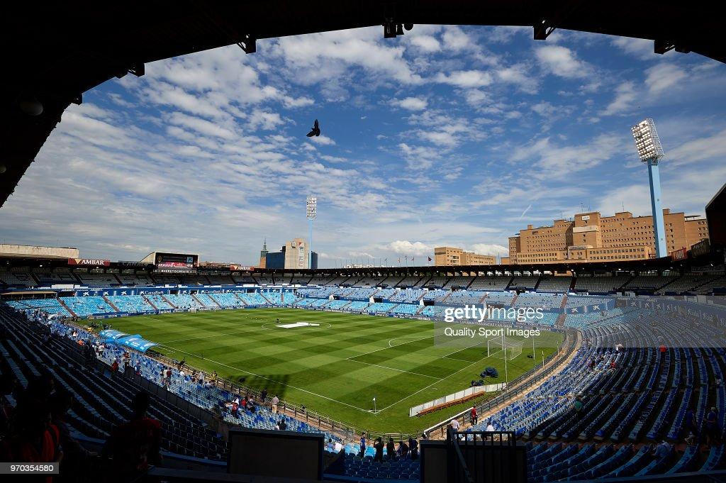 Real Zaragoza v CD Numancia - Segunda Division Play Off : ニュース写真