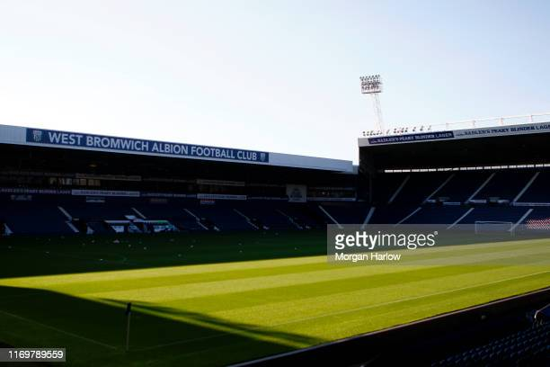 General view inside the stadium prior to the Premier League 2 match between West Bromwich Albion and Sunderland at The Hawthorns on August 23, 2019...