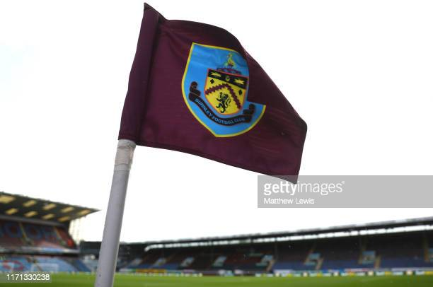 General view inside the stadium prior to the Premier League match between Burnley FC and Liverpool FC at Turf Moor on August 31, 2019 in Burnley,...