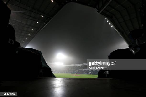 General view inside the stadium prior to the Premier League match between West Bromwich Albion and Sheffield United at The Hawthorns on November 28,...