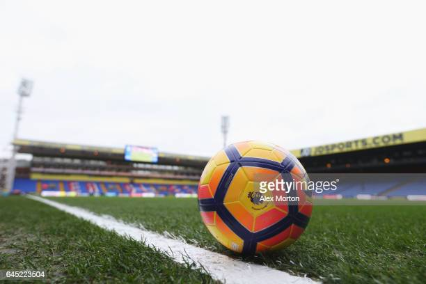 General view inside the stadium prior to the Premier League match between Crystal Palace and Middlesbrough at Selhurst Park on February 25 2017 in...