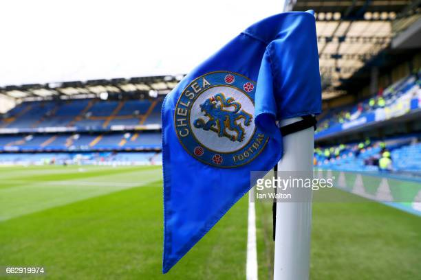 General view inside the stadium prior to the Premier League match between Chelsea and Crystal Palace at Stamford Bridge on April 1 2017 in London...