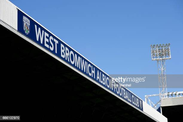 General view inside the stadium prior to the Premier League match between West Bromwich Albion and Southampton at The Hawthorns on April 8, 2017 in...