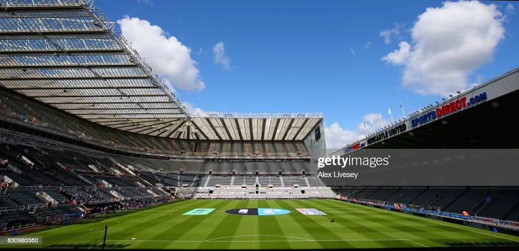 General view inside the stadium prior to the Premier ...