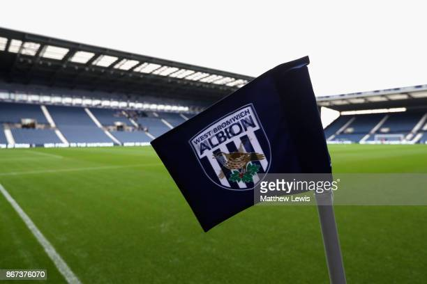 General view inside the stadium prior to the Premier League match between West Bromwich Albion and Manchester City at The Hawthorns on October 28...