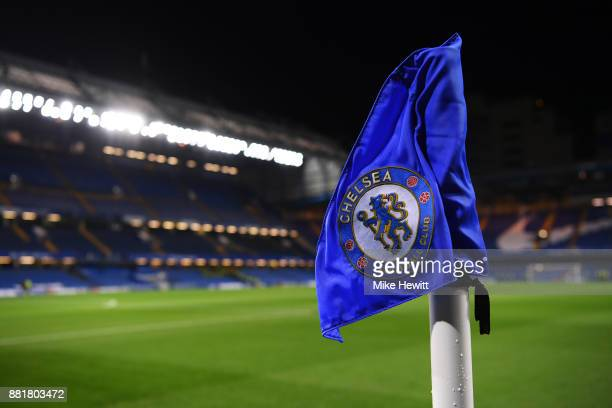 General view inside the stadium prior to the Premier League match between Chelsea and Swansea City at Stamford Bridge on November 29 2017 in London...