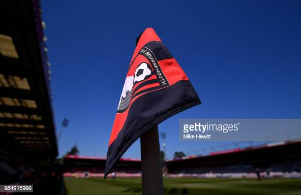 General view inside the stadium prior to the Premier League match between AFC Bournemouth and Swansea City at Vitality Stadium on May 5 2018 in...