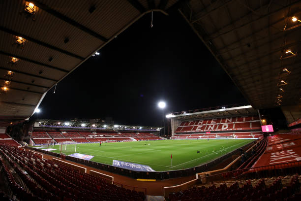 GBR: Nottingham Forest v Rotherham United - Sky Bet Championship
