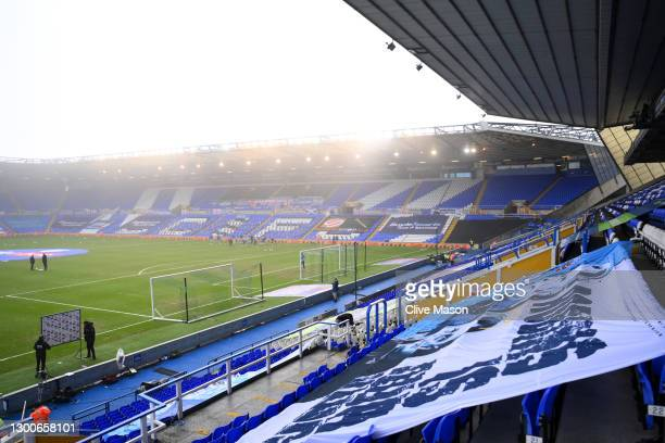 General view inside the stadium prior to the Sky Bet Championship match between Coventry City and Watford at St Andrew's Trillion Trophy Stadium on...