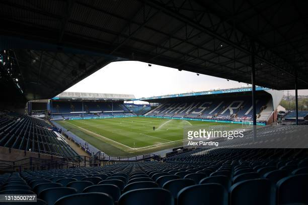 General view inside the stadium prior to the Sky Bet Championship match between Sheffield Wednesday and Blackburn Rovers at Hillsborough Stadium on...