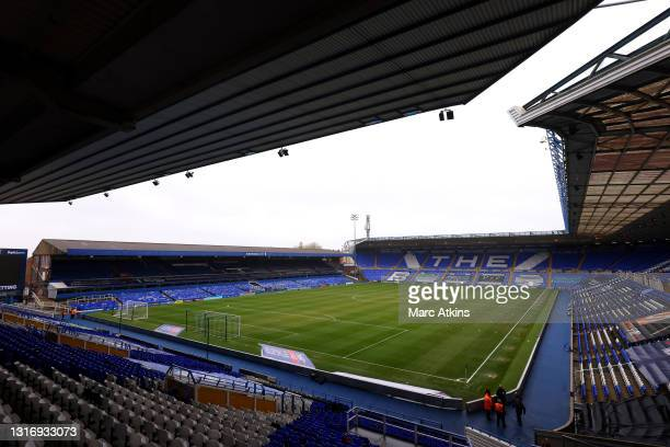 General view inside the stadium prior to the Sky Bet Championship match between Coventry City and Millwall at St Andrew's Trillion Trophy Stadium on...