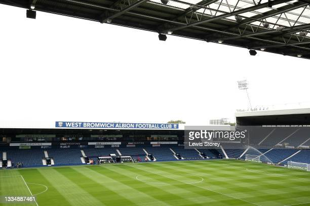 General view inside the stadium prior to the Sky Bet Championship match between West Bromwich Albion and Sheffield United at The Hawthorns on August...
