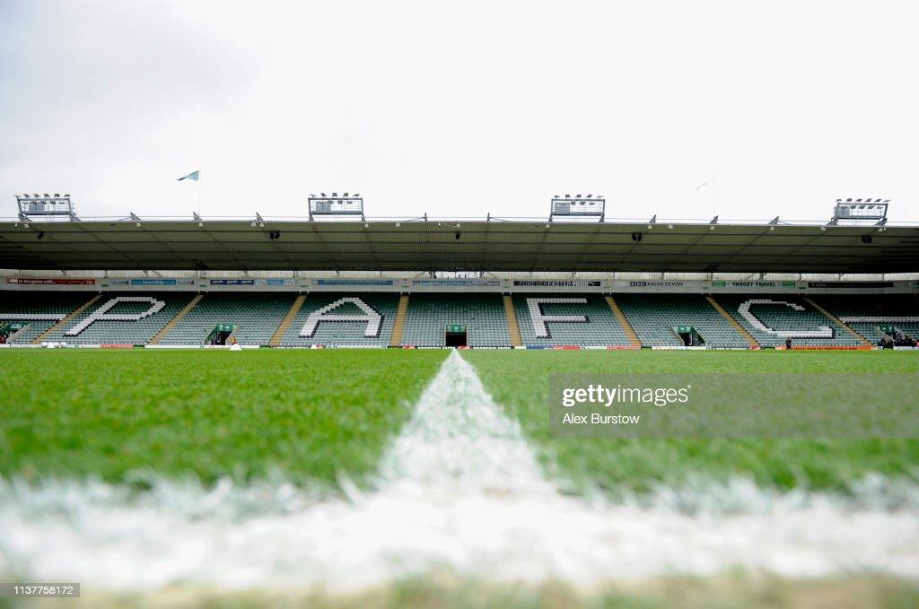 GBR: Plymouth Argyle v Bristol Rovers - Sky Bet League One