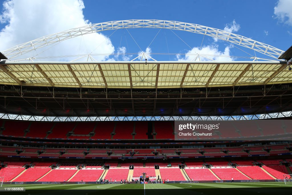 GBR: Tranmere Rovers v Newport County - Sky Bet League Two Play-off Final