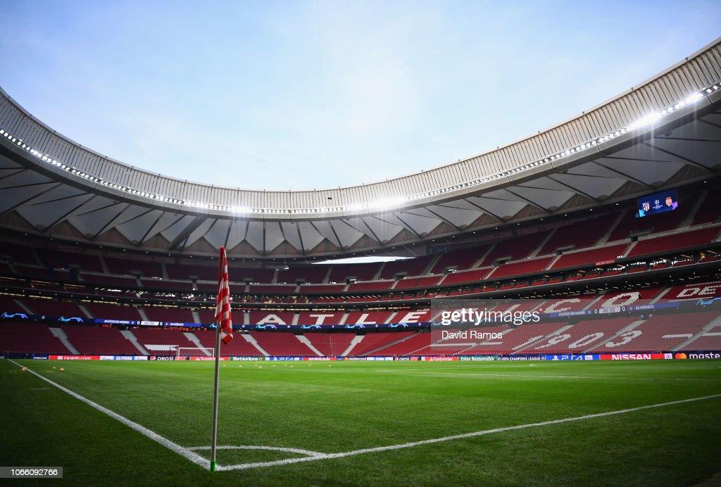 ESP: Club Atletico de Madrid v AS Monaco - UEFA Champions League Group A