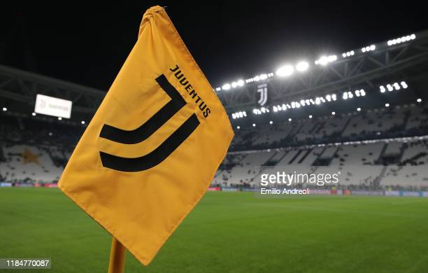 A general view inside the stadium prior to the UEFA Champions League group D match between Juventus and Atletico Madrid at Allianz Stadium on...