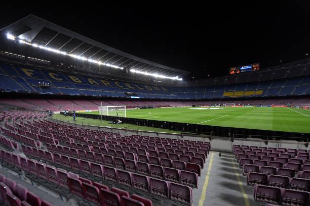 ESP: FC Barcelona v Ferencvaros Budapest: Group G - UEFA Champions League