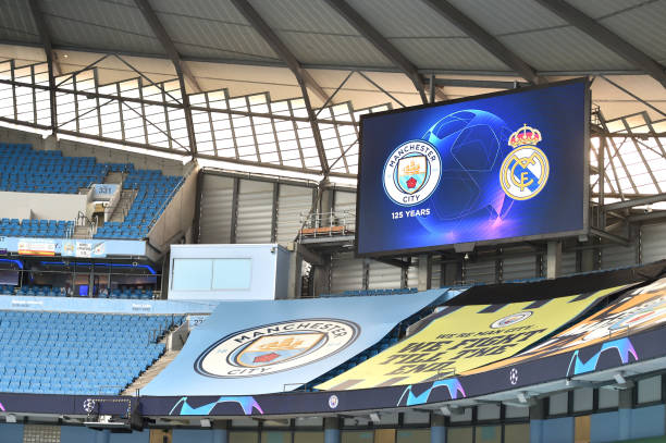 GBR: Manchester City v Real Madrid - UEFA Champions League Round of 16: Second Leg