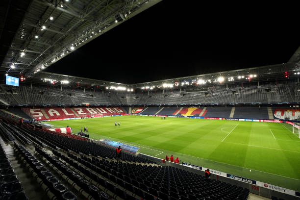 AUT: RB Salzburg v Maccabi Tel-Aviv - UEFA Champions League: Play-Offs Second Leg