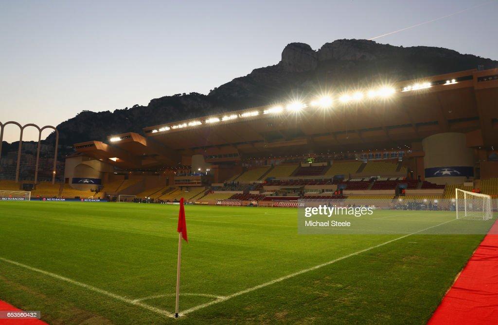 AS Monaco v Manchester City FC - UEFA Champions League Round of 16: Second Leg : ニュース写真