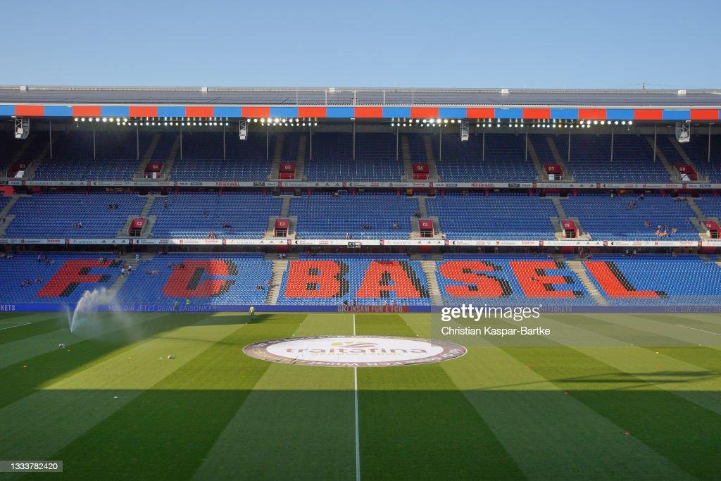 FC Basel v Ujpest - UEFA Conference League: Third Qualifying Round Leg Two : News Photo