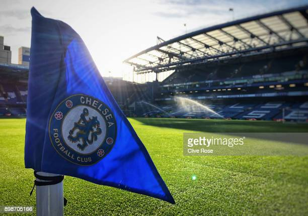 A general view inside the stadium prior tothe Premier League match between Chelsea and Brighton and Hove Albion at Stamford Bridge on December 26...