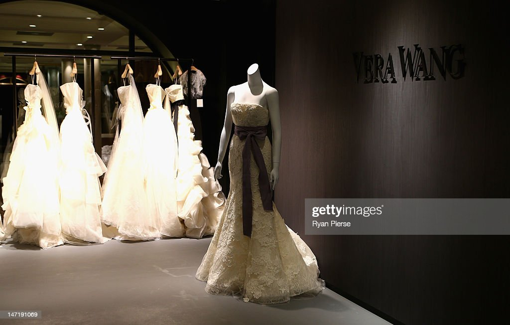 Vera Wang Opens First Australian Boutique : News Photo
