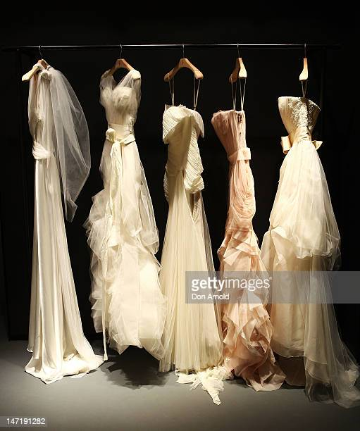 A general view inside the store at the official opening of the first Vera Wang bridal boutique at The Intercontinental Hotel in Australia on June 27...