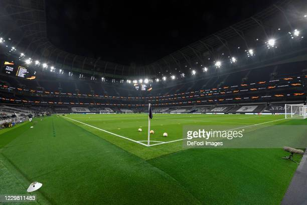 A general view inside the Tottenham Hotspur stadium during the UEFA Europa League Group J stage match between Tottenham Hotspur and PFC Ludogorets...