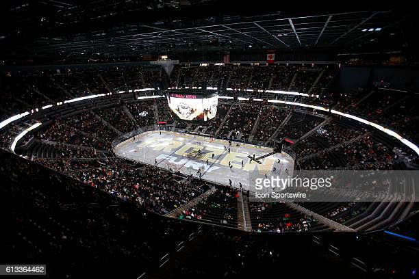 A general view inside TMobile Arena during a preseason game between the Dallas Stars and the LA Kings in Las Vegas Nevada The Dallas Stars would...