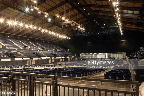 General view inside Wembley Arena in London, circa 2009.