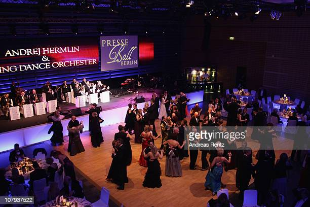 General view is pictured at the Berlin Press Ball 2011 at the Ullstein hall on January 8, 2011 in Berlin, Germany.