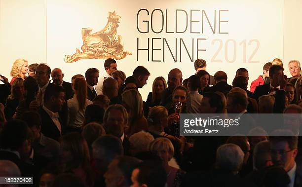 General view is pictured during the 'Goldene Henne' 2012 award after show party on September 19 2012 in Berlin Germany