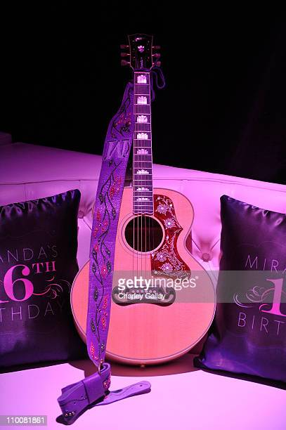 General view is seen at Miranda Cosgrove's Sweet 16 Party at Siren on May 16, 2009 in Los Angeles, California.
