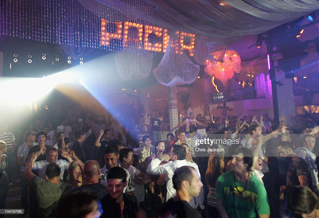 A general view is seen at Pacha nightclub in Eivissa town on June 5, 2007 in Ibiza, Spain. Pacha will celebrate its 34th birthday tomorrow and has become a global brand with clubs located around the world. Ibiza remains one of the world's top holiday destinations for young people and for the last decade or so the island has been a Mecca for clubbers with some of the bigger clubs drawing crowds of up to four thousand in peak season. The interior of the island remains a place of solitude and unspoilt natural beauty whilst coastal resorts cater for the masses of the package holiday industry.