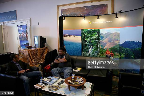 A general view is seen at the American Film Market held at Loews Santa Monica Beach Hotel on November 4 2007 in Santa Monica California
