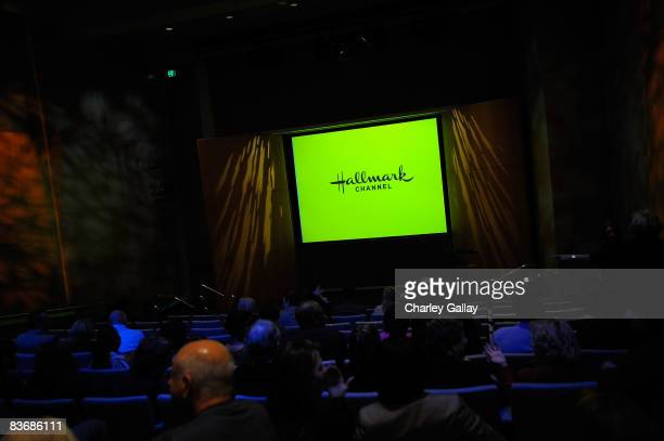 A general view is seen at the world premiere screening of the Hallmark Channel original movie Accidental Friendship at The Paley Center for Media on...