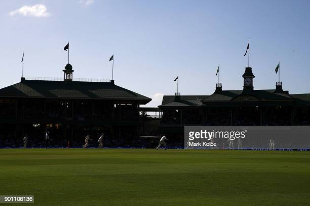 A general view is seen during day one of the Fifth Test match in the 2017/18 Ashes Series between Australia and England at Sydney Cricket Ground on...