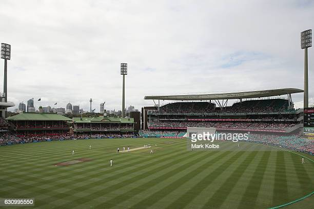 A general view is seen during day three of the Third Test match between Australia and Pakistan at Sydney Cricket Ground on January 5 2017 in Sydney...