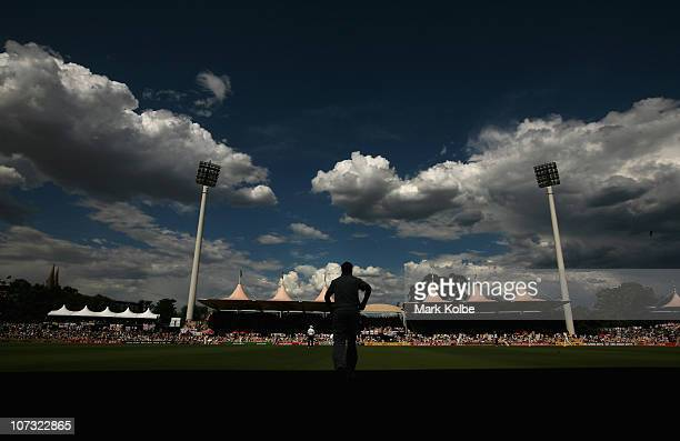 A general view is seen during day two of the Second Ashes Test match between Australia and England at Adelaide Oval on December 4 2010 in Adelaide...
