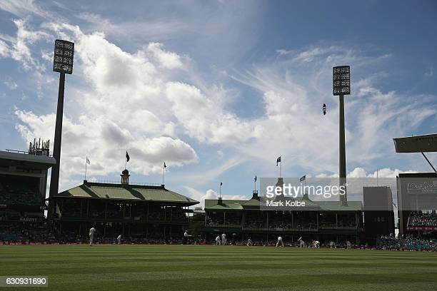 A general view is seen during day two of the Third Test match between Australia and Pakistan at Sydney Cricket Ground on January 4 2017 in Sydney...