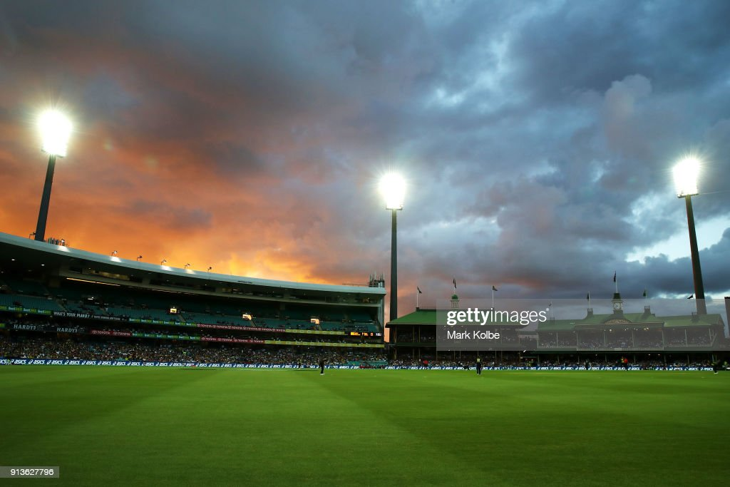 Australia v New Zealand - T20 Game 1 : News Photo