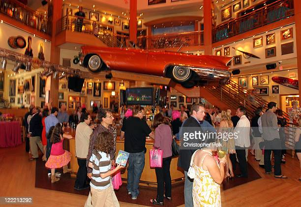 A general view is seen during the premiere of 'Standing Ovation' after party at Universal AMC CityWalk Stadium 19 Cinemas on July 10 2010 in...