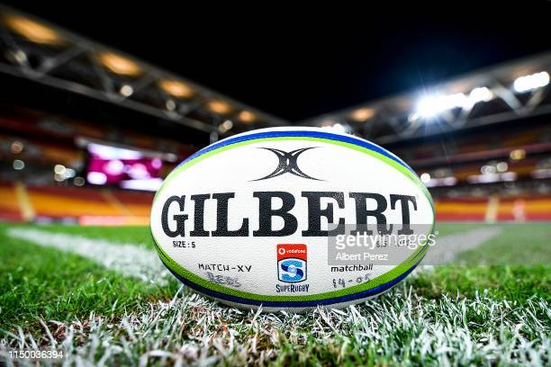 General view is seen during the round 14 Super Rugby match between the Reds and the Waratahs at Suncorp Stadium on May 18, 2019 in Brisbane,...