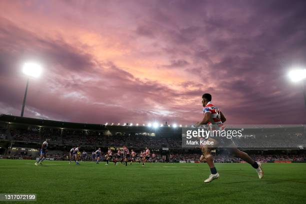 General view is seen during the round nine NRL match between the St George Illawarra Dragons and the Canterbury Bulldogs at Netstrata Jubilee...