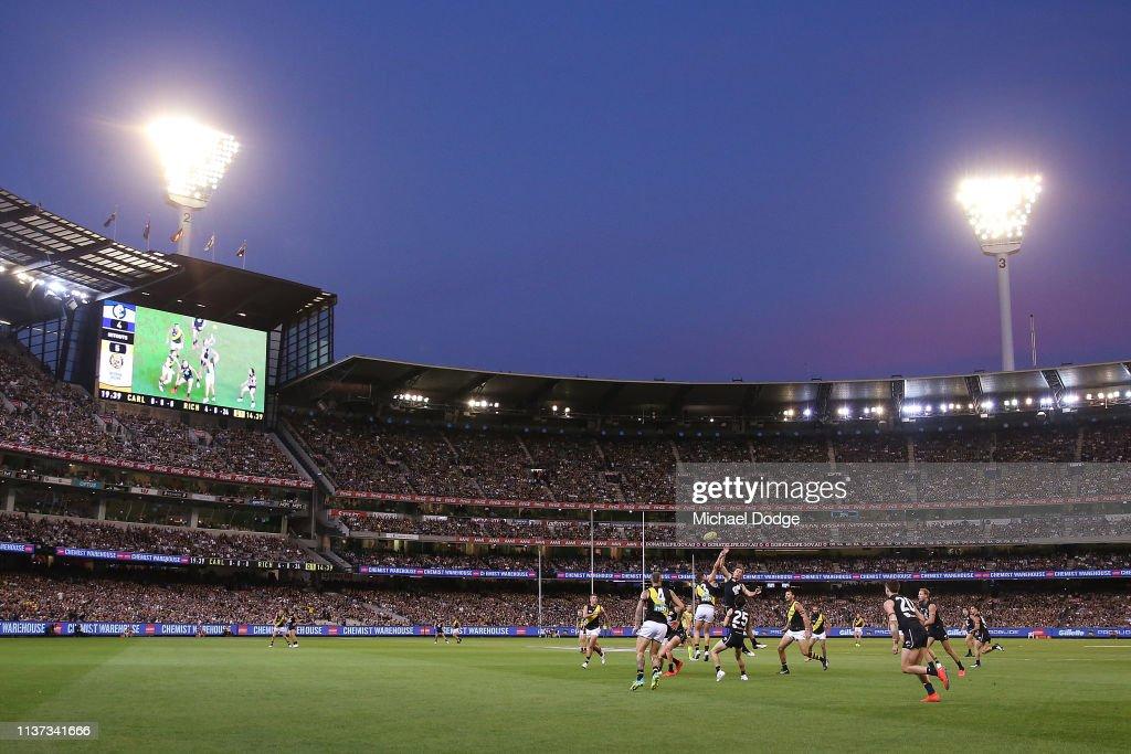 AFL Rd 1  - Carlton v Richmond : News Photo