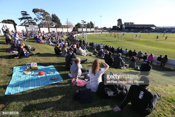 A general view is seen during the VFL Semi Final match between Port Melbourne and Footscray at Fortburn Stadium on September 10 2017 in Melbourne...
