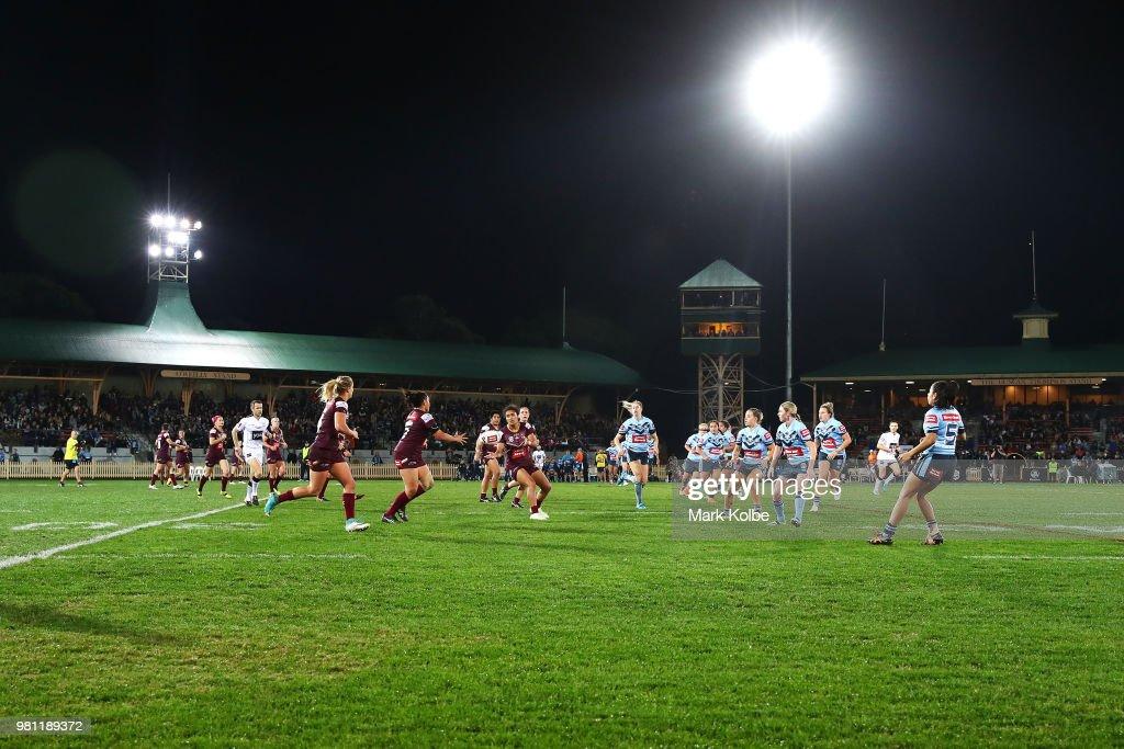 Women's State Of Origin - NSW v QLD : News Photo